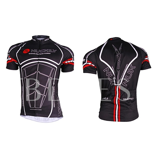 Short Sleeve Quick-Drying Men's Cycling Jersey (Plus Size Available)