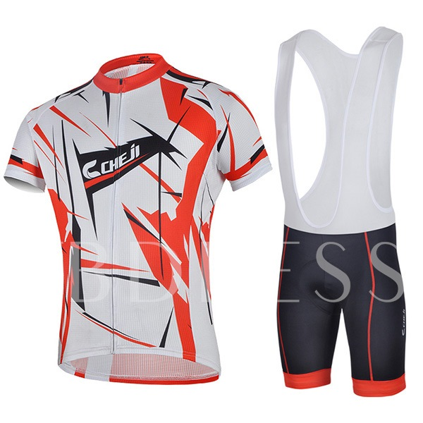 Wicking Materials Quick Dry Overalls Shorts Men's Bicycle Suit (Plus Size Available)