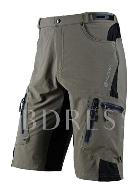 Side Pockets Men's Cycling Shorts