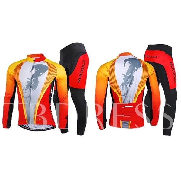 Outdoor Sports Breathable Long Sleeve Men's Biking Suit