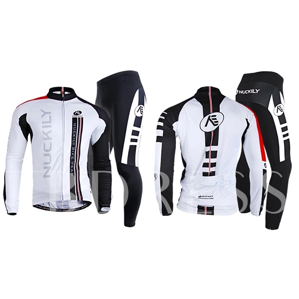Sportswear Quick Dry Long Sleeve Men's Cycling Suit