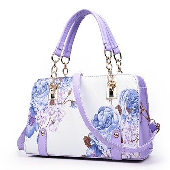 Artistic Concept Flower Painting Print Women's Tote Bag