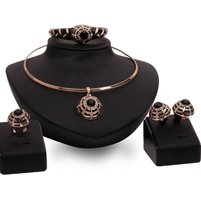 European Style Party Four Pieces Jewelry Set