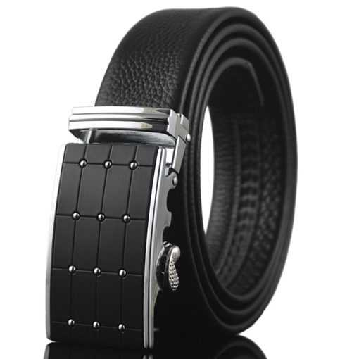 Adjustable Automatic Locking Buckle Men's Belt