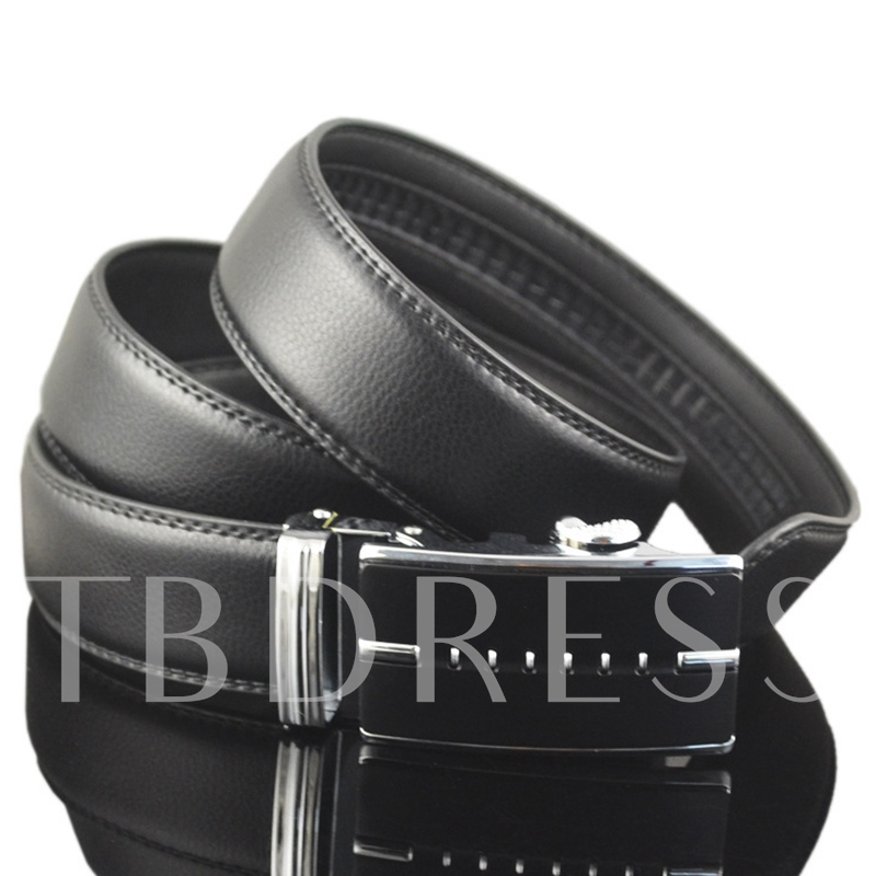 High Quality Business Automatic Buckle Men's Belt