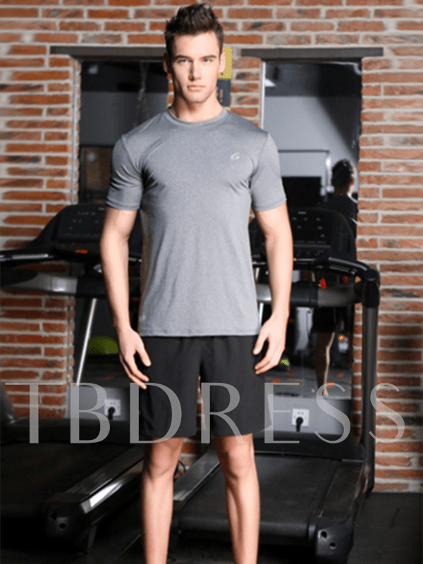 Leisurely Gym Fitting Men's Sports Running Suit