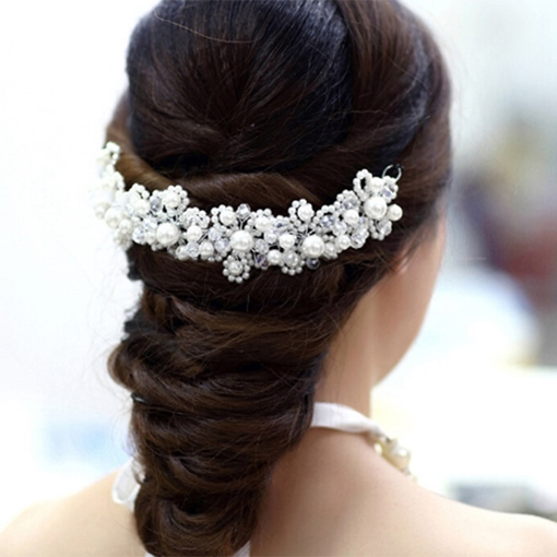 Pearl Alloy Bridal Headband