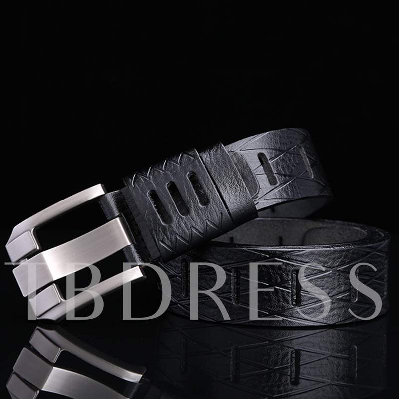 Vogue Men's Hollow-Out Belt