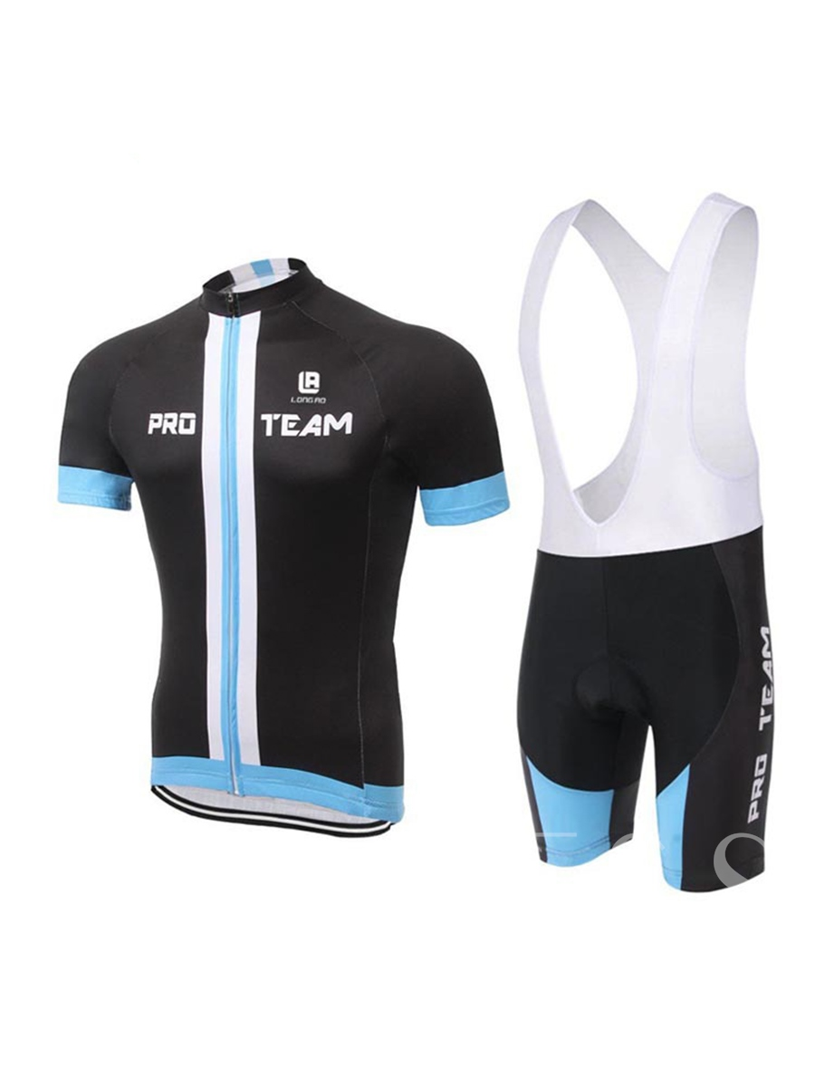 Wicking Materials Overalls Shorts Men's Bicycle Suit (Plus Size Available)
