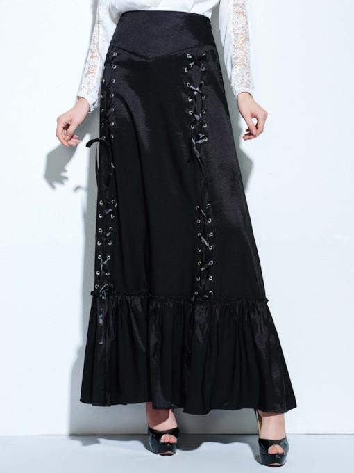 Three Way Lace-up Women's Skirt