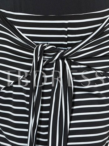 Plus Size Stripes Women's Maxi Dress (Plus Size Available)