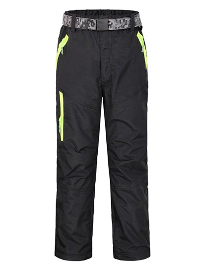 Windproof Waterproof Double Fleece Lining Teenagers Long Pants (Plus Size Available)