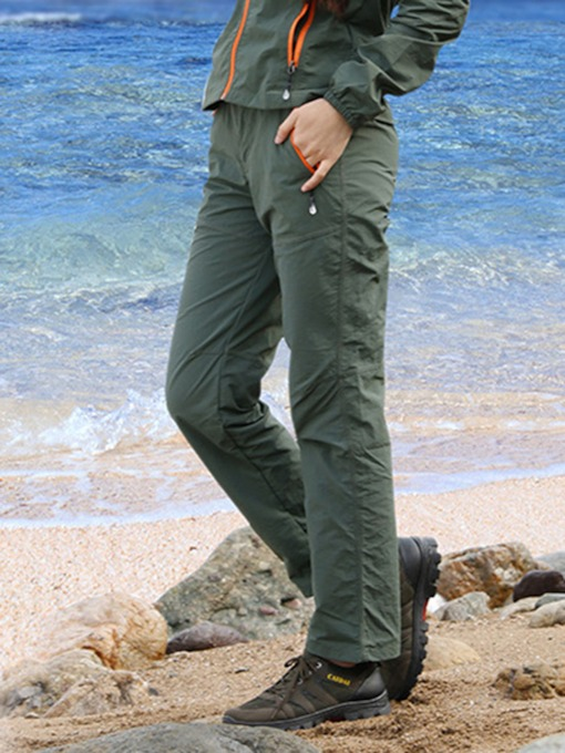 Plus Size Lightweight Quick Dry Outdoor Women's Long Pants