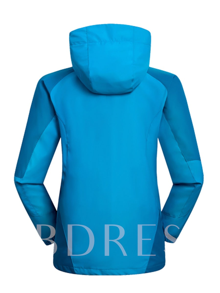 Three-In-One Form-Fitting Thickening Detachable Teenagers' Jacket