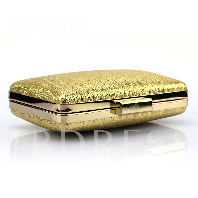 Fashion Silk Thread Patchwork Evening Clutch