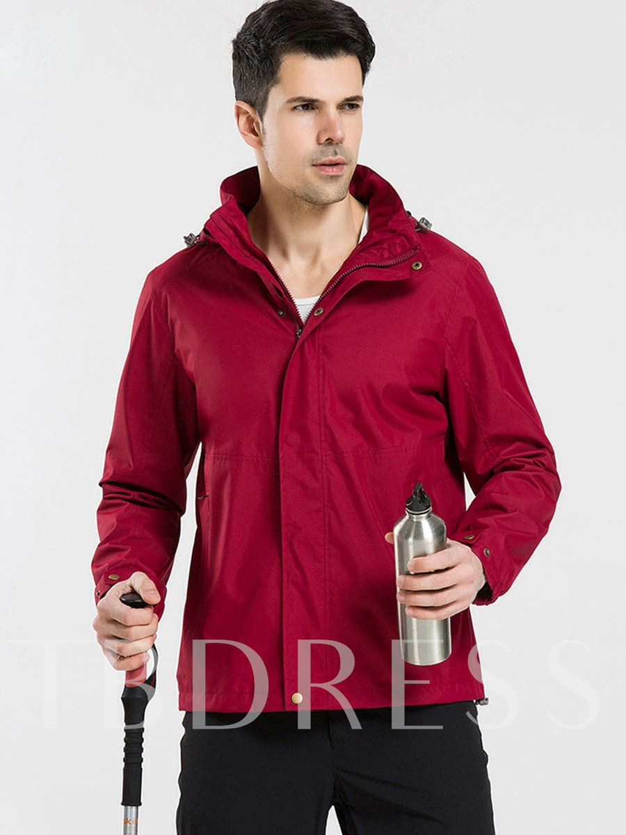 Waterproof Warm Breathable Men's Jacket