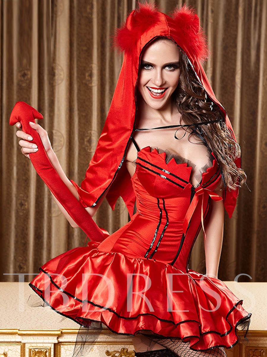 Deluxe Little Red Costume