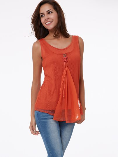 Plain Slim Women's Tank Top