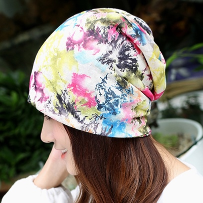 Colourful Graffiti Design Brimless Hat