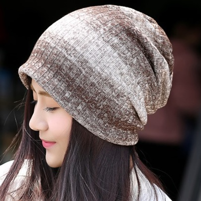 Gradient Stripe Design Women's Hat