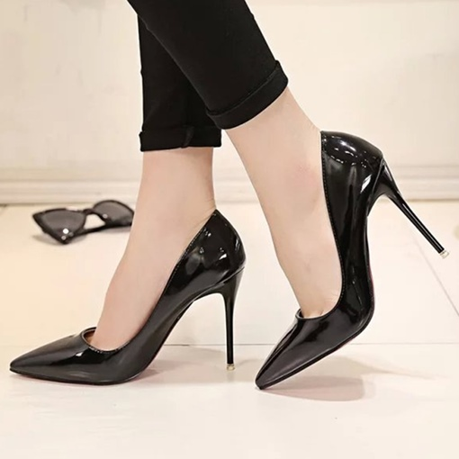 Slip-On Cheap Pointed Stiletto Heel Women's Formal Pumps