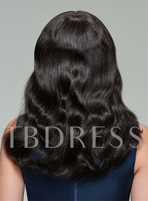 Long Loose Wave Capless Human Hair Wig 20 Inches