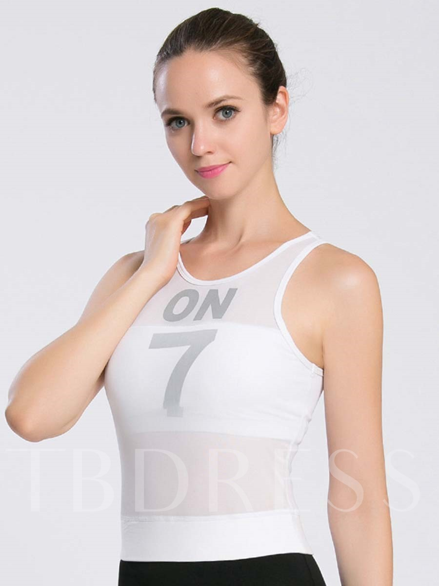 Fast Drying Thin Sleeveless Women Sports Tank