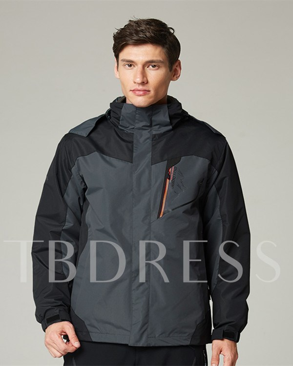 Three-In-One Waterproof Warm Men's Jacket (Plus Size Available)