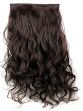 One Piece Clip In Synthetic Hair Extension 24 Inches 2/33