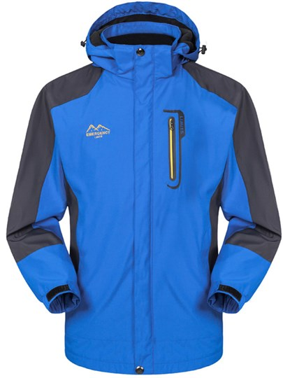 Light Weight Wind-Water-Proof Front Zipper Female Outdoor Jacket