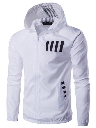 Hooded Printed Side Pocket Solid Color Thin Slim Fit Mens Hoodie Hooded Printed Side Pocket Solid Color Thin Slim Fit Men's Hoodie
