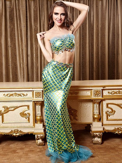 Beautiful Mermaid Costume