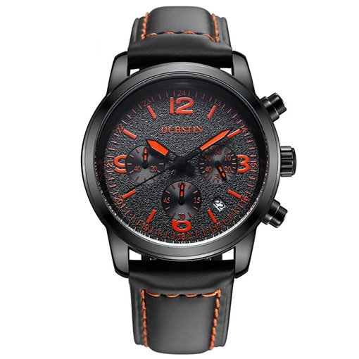 Men's Luminous Waterproof Watch