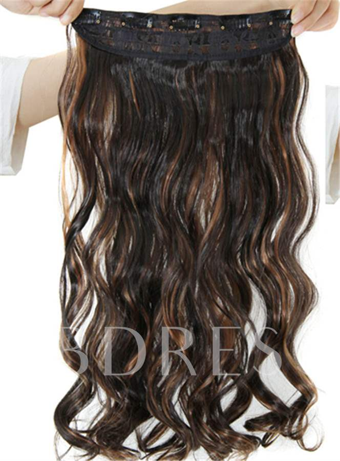 Loose Wavy One Piece Synthetic Clip In Hair Extension 2H30