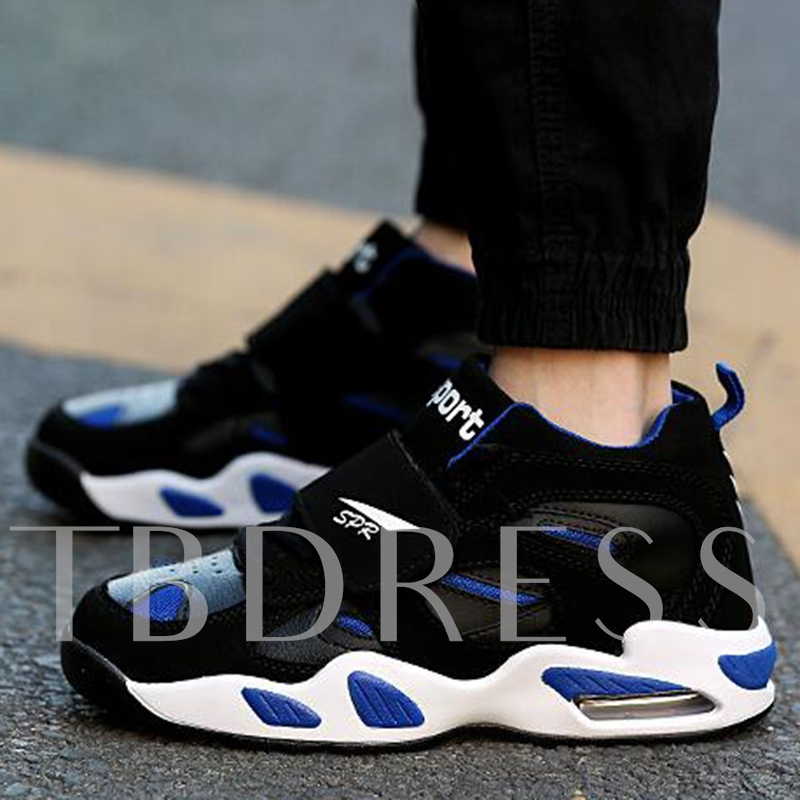 Flat Heel Contrast Color Low-Cut Upper Men's Sneakers