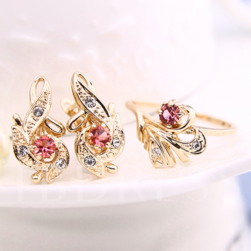 High Quality Gold E-Plating Jewelry Set