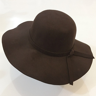 Wide Brim Design Fedora Hat