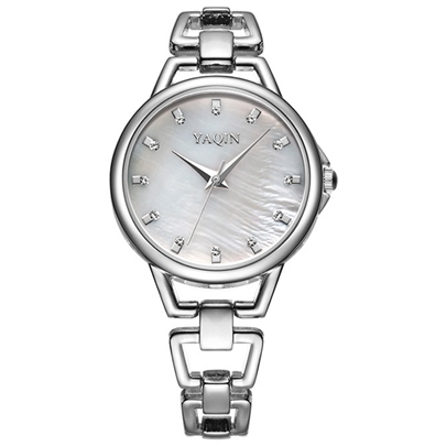 Round Dial Waterproof Women's Watch