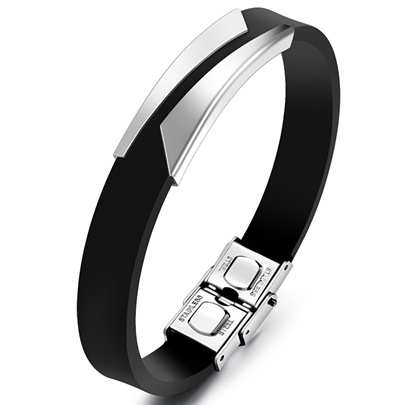 Classic Simple Men's Artificial Leather Bracelet