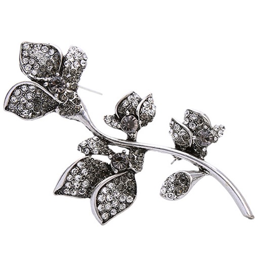 Alloy Leaves Design Brooch