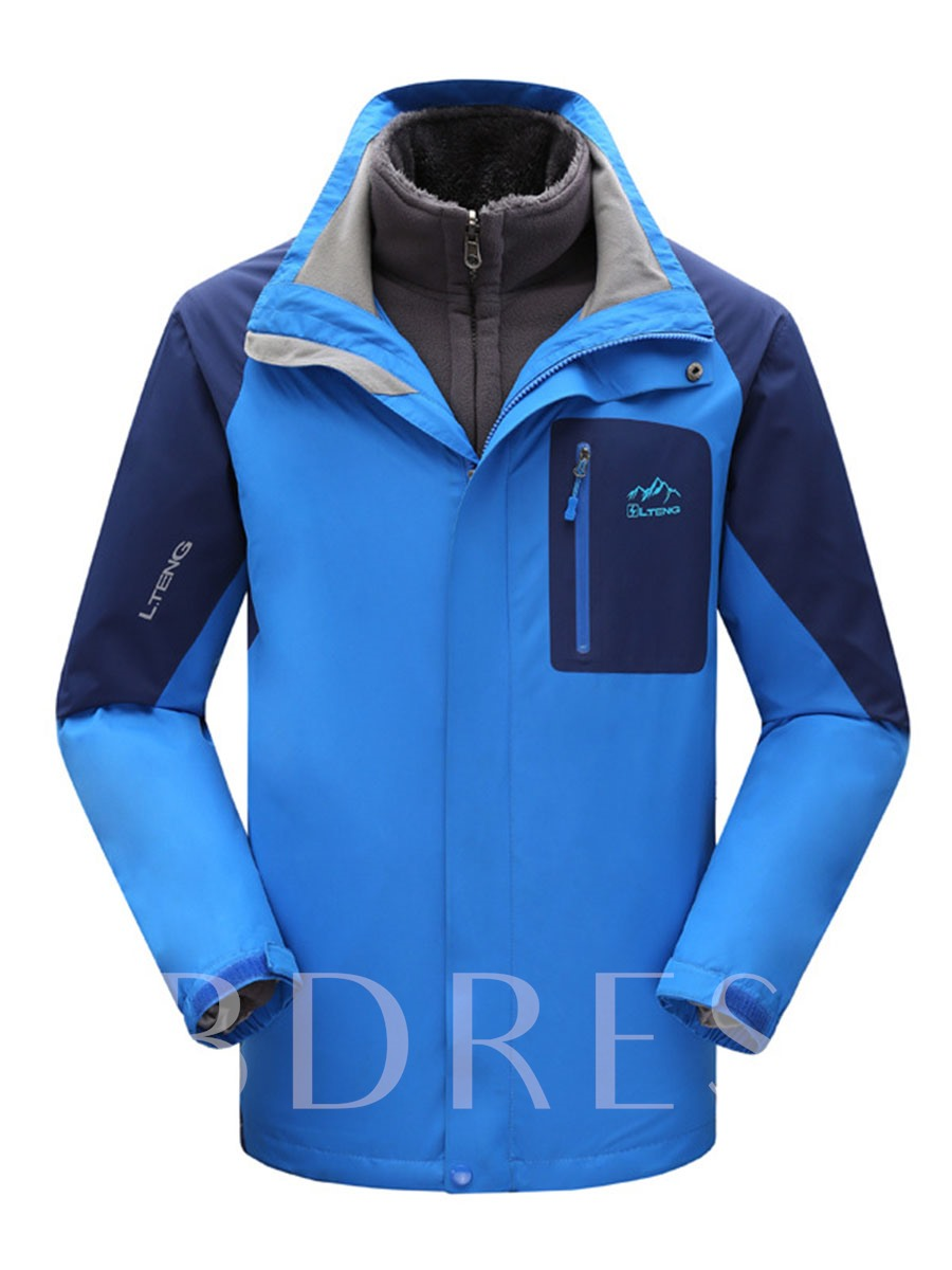Image of 2-Piece Wind-Water-Proof Couple Outdoor Clothing