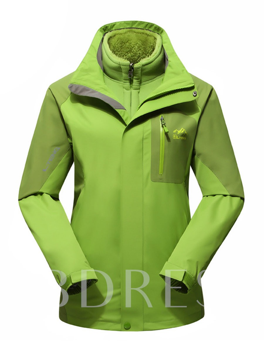 2-Piece Wind-Water-Proof Couple Outdoor Clothing