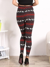 High Waisted Soft Flower Print Tight Women's Leggings