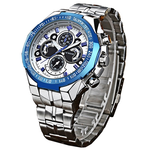 Business Steel Band Men's Watch