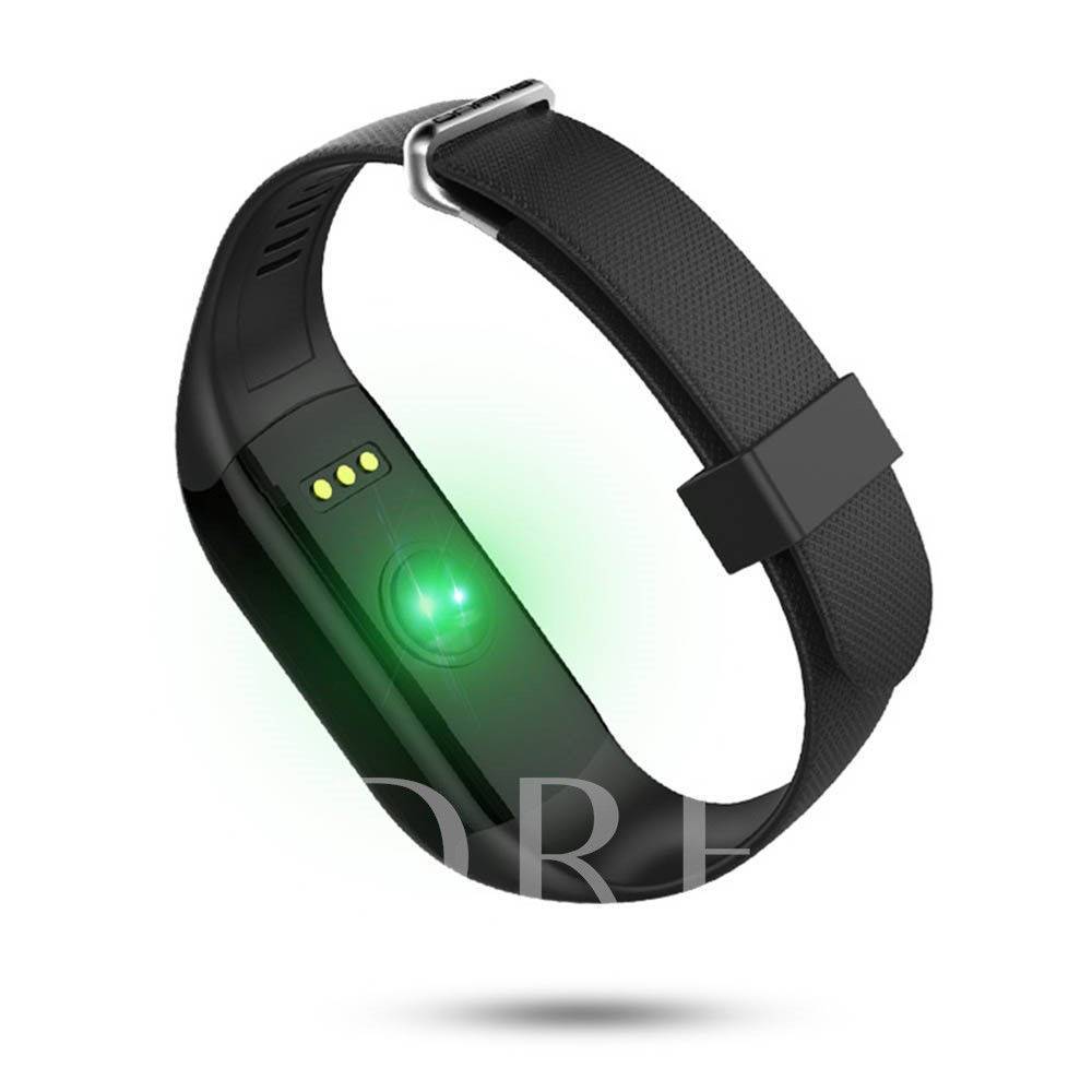 H3 IP67 Waterproof Bluetooth Fitness Tracker Touch-Screen Heart Rate Monitor