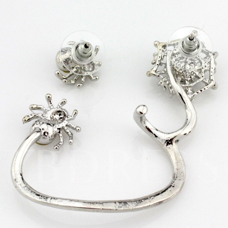 Alloy Spider Design Ear Cuff