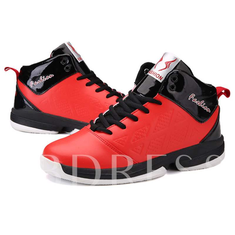 Round Toe Ankle Men's Sneakers