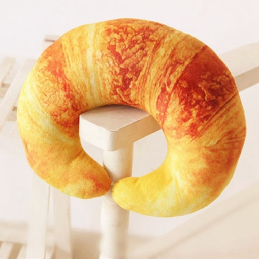 Plush Toy Prawn Croissant Bread Pepper Chili Shrimp Pillow Travel u-Shaped Pillow Neck Pillow
