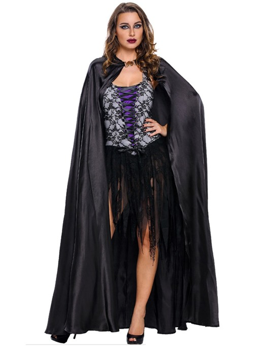 U-Neck Strappy Tassel Witch Holloween Costume