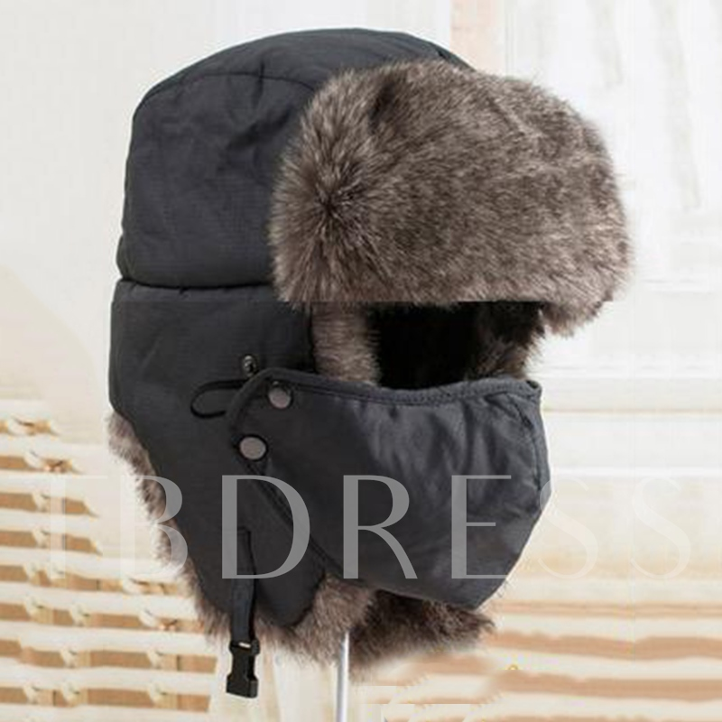 Outdoor Thicken Earmuffs Men's Bomber Hat